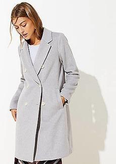 LOFT Double Breasted Coat