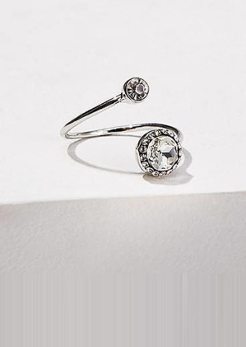 LOFT Double Stone Adjustable Ring