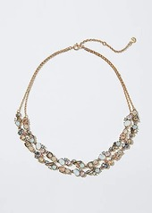 LOFT Double Strand Crystal Garden Necklace