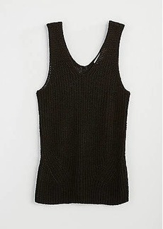 LOFT Double V Sweater Tank