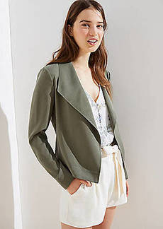 LOFT Drapey Open Jacket