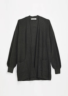 LOFT Drapey Pocket Open Cardigan