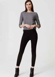 LOFT Easy Denim Leggings in Black