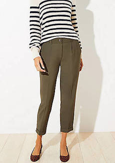 LOFT Slim Pants with Stretch Waist