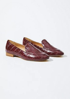 LOFT Embossed Loafers