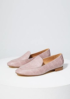 LOFT Embossed Loafers