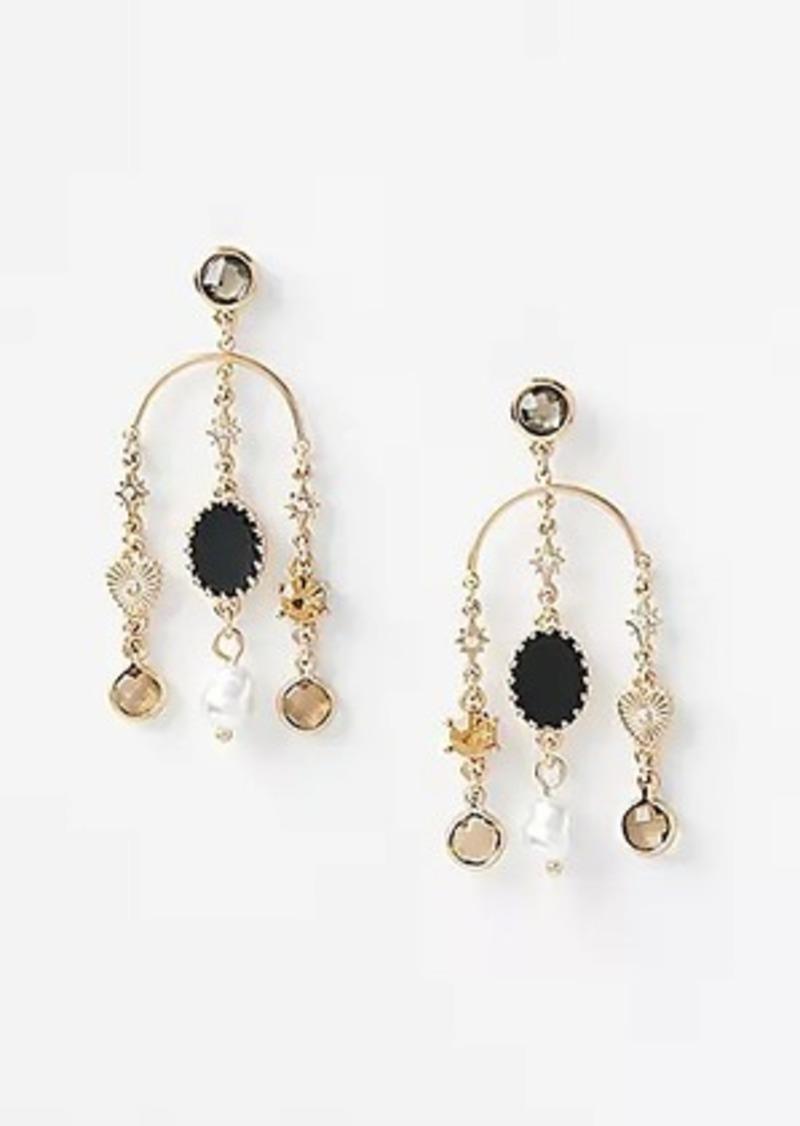 LOFT Enamel Charm Earrings