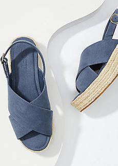 LOFT Espadrille Slingback Sandals