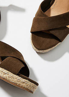 LOFT Espadrille Wedge Sandals