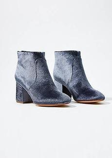 LOFT Everyday Ankle Bootie- Velvet