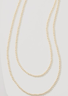 LOFT Extra Long Pearlized Necklace