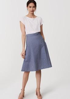LOFT Eyelet Skirt