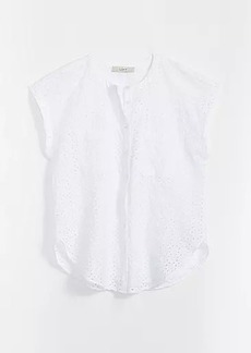 LOFT Eyelet Pocket Shirt