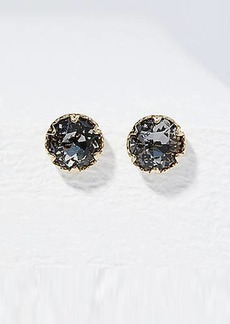 LOFT Faceted Stone Stud Earrings