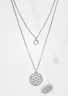 LOFT Filigree Layered Necklace