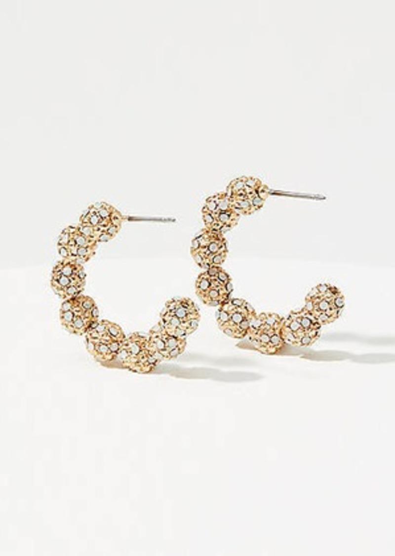 LOFT Fireball Hoop Earrings
