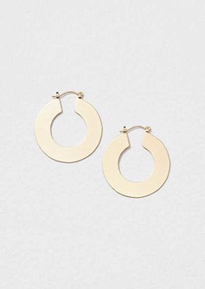 LOFT Flat Hoop Earrings