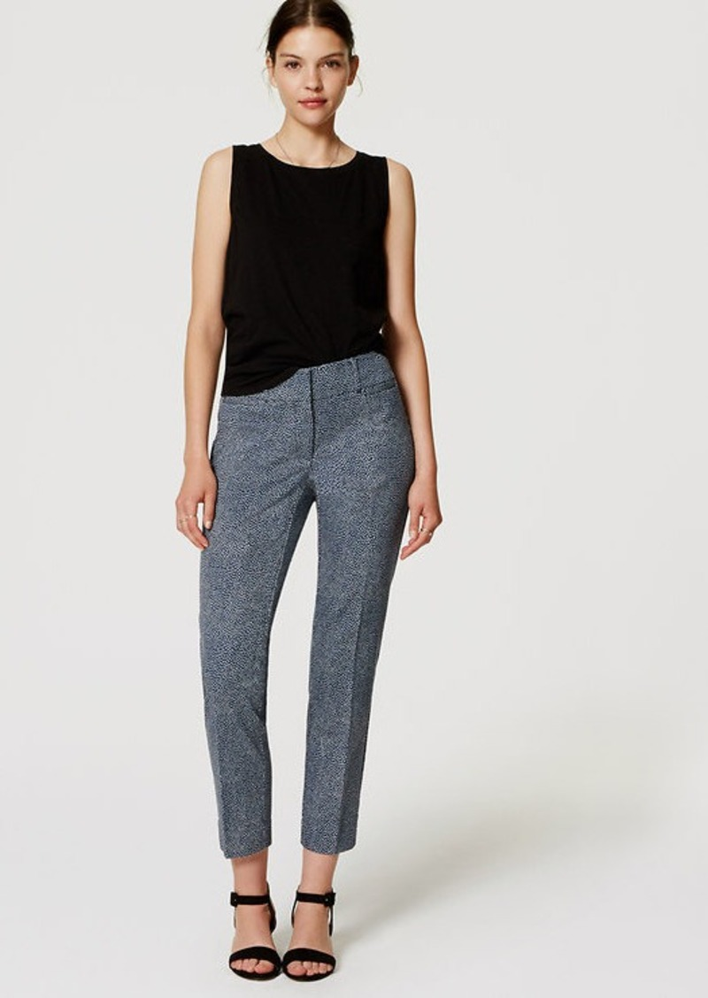 LOFT Flecked Riviera Cropped Pants in Julie Fit