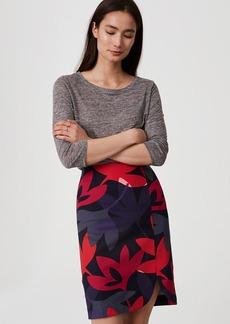 Fleur Curved Pencil Skirt