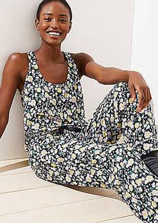 LOFT Floral Tank Pajama Set