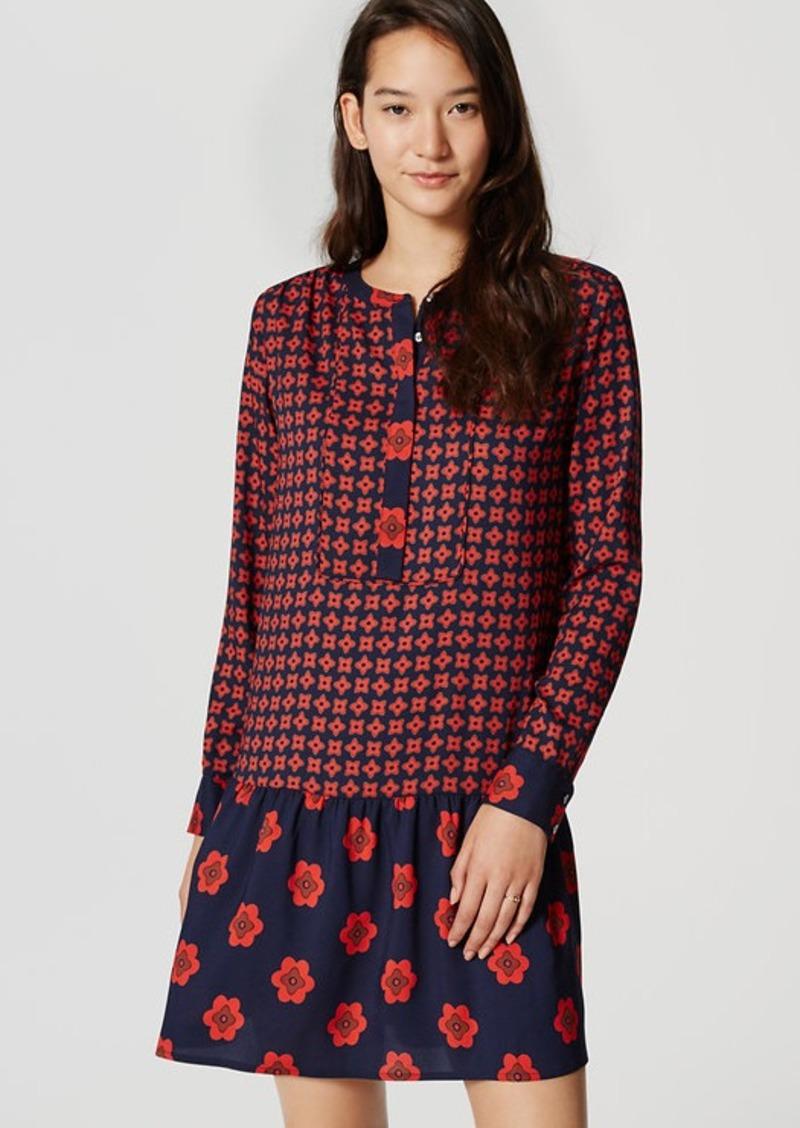 loft dresses. Floral Flounce Dress. LOFT Loft Dresses