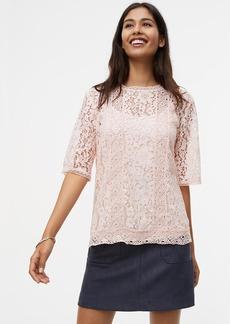 Floral Lace Top