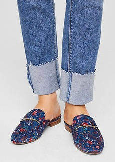 Floral Loafer Slides