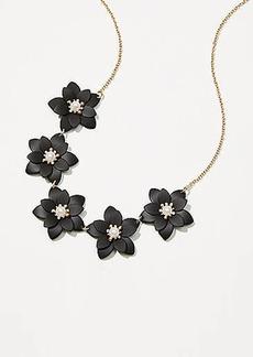 LOFT Floral Necklace