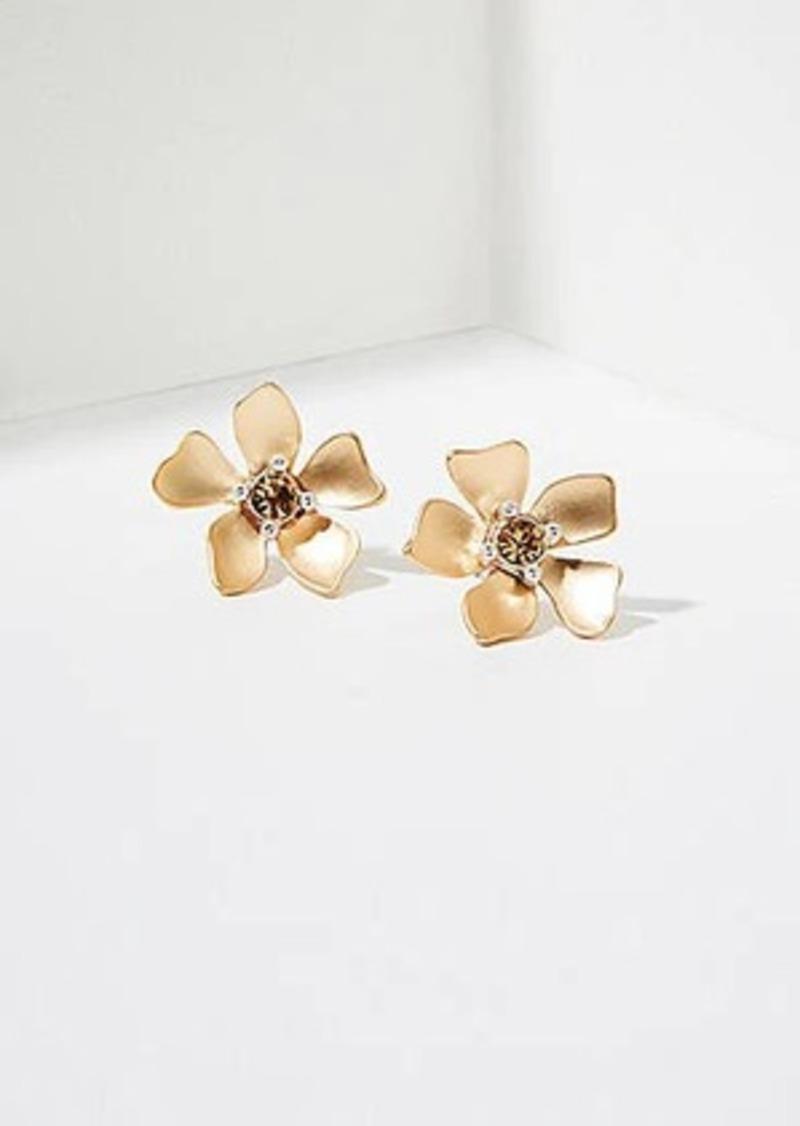 LOFT Floral Stud Earrings