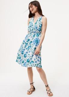 Floral Tie Waist Dress