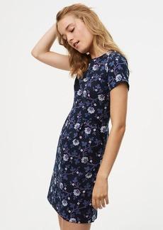 Floral Vine Sheath Dress