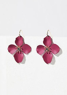 LOFT Flower Drop Earrings