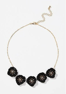 LOFT Flower Statement Necklace