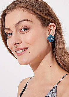 LOFT Flower Stud Earrings