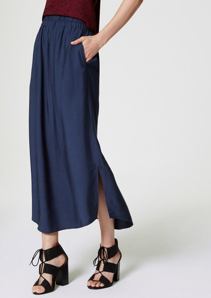loft fluid maxi skirt skirts shop it to me