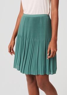 Fluid Pleated Skirt