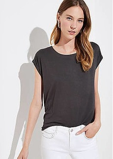 LOFT Fluid Shirttail Tee