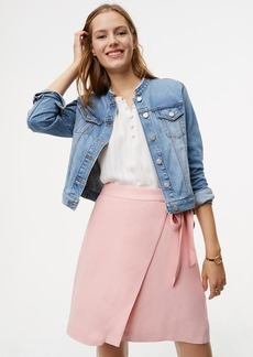 LOFT Fluid Wrap Skirt