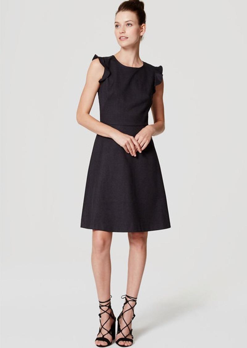 LOFT Flutter Flare Dress | Dresses