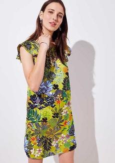 Flutter Satin Dress