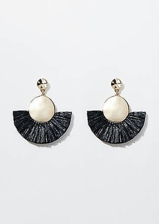 LOFT Fringe Drop Earrings