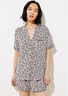 LOFT Fruit Pajama Top