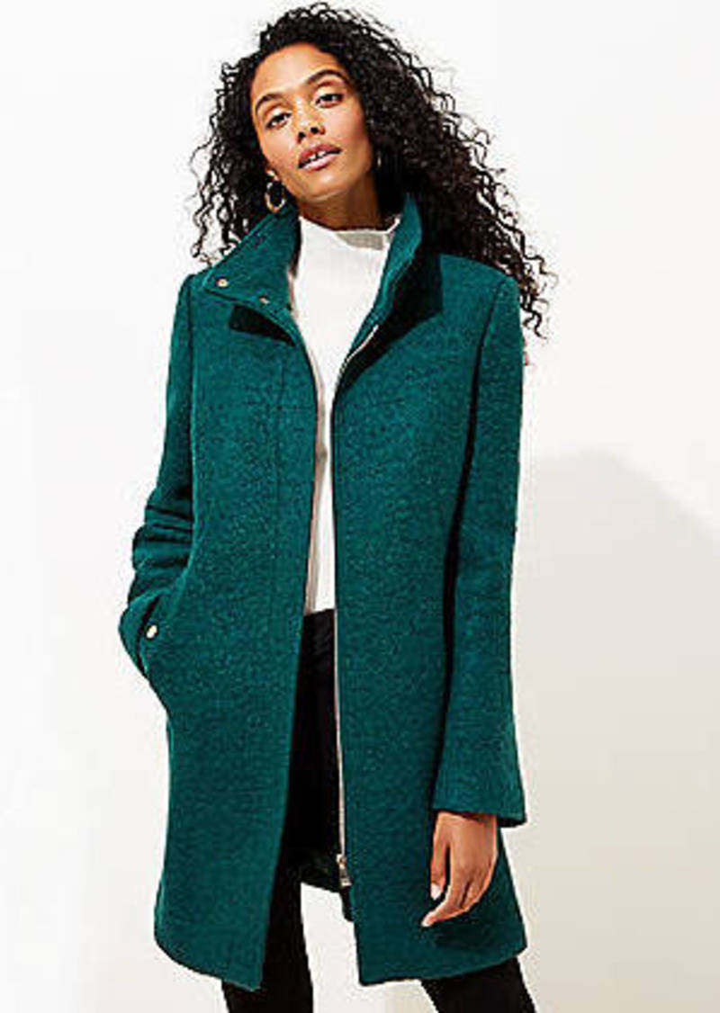 LOFT Funnel Neck Coat