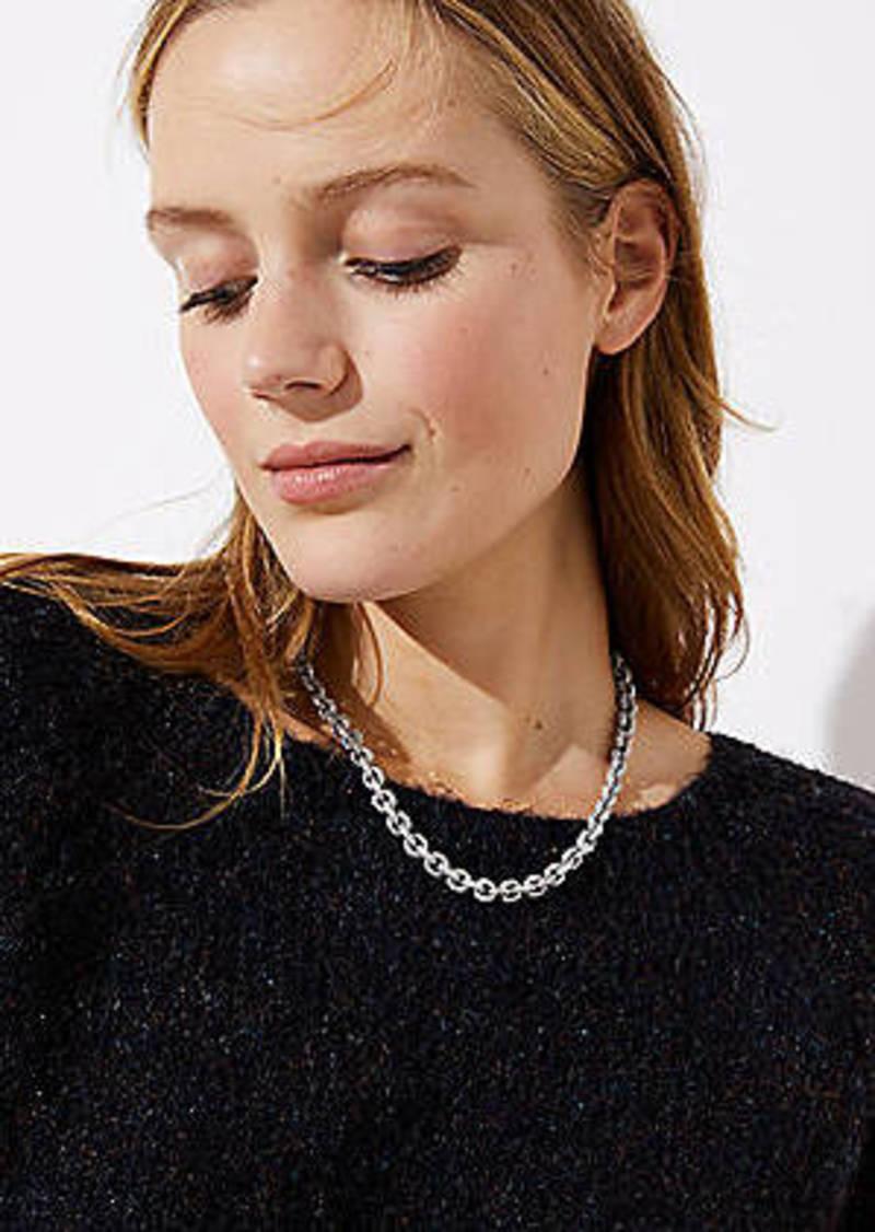 LOFT Gem Link Necklace
