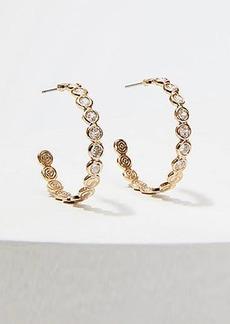 LOFT Gem Mini Hoop Earrings