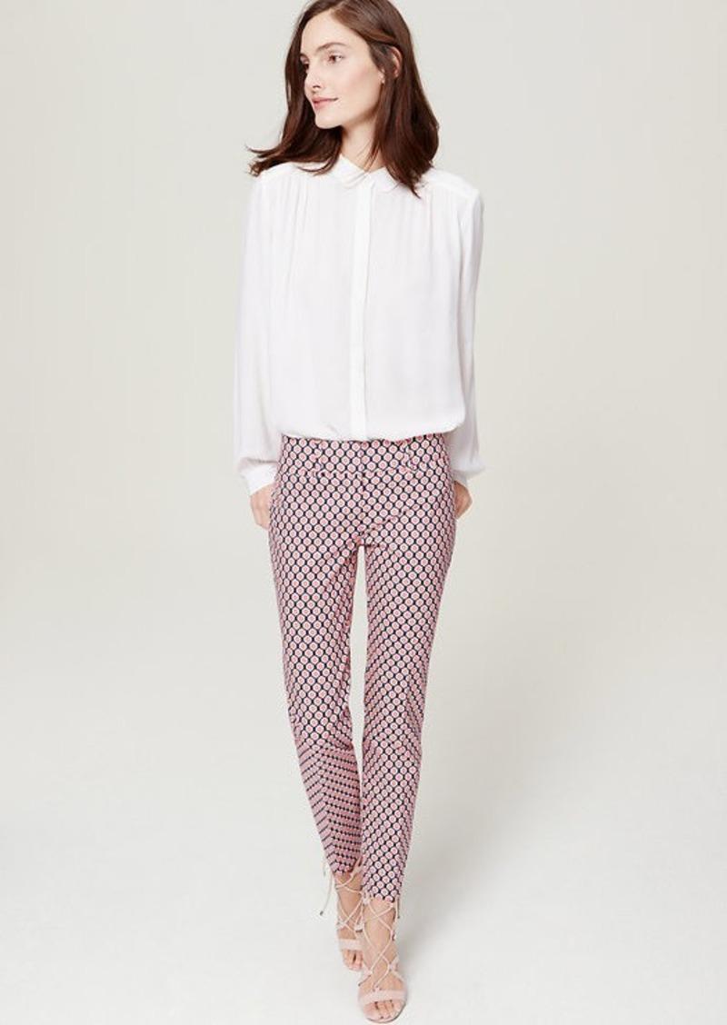 8b173770eda LOFT Geo Riviera Cropped Pants in Marisa Fit Now  29.94