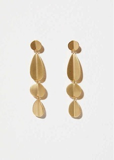 LOFT Modern Mixed Drop Earrings