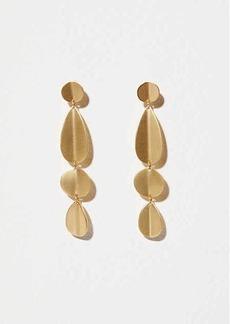 LOFT Modern Mixed Drop Earrings