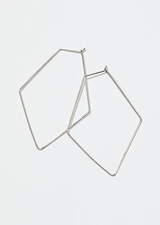 LOFT Geometric Hoop Earrings