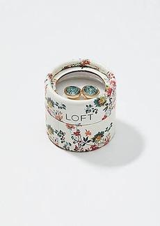 LOFT Gift Boxed Crystal Stud Earrings